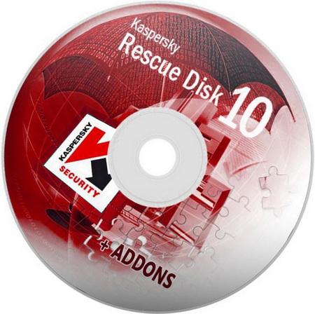 أسطوانةKaspersky Rescue Disk