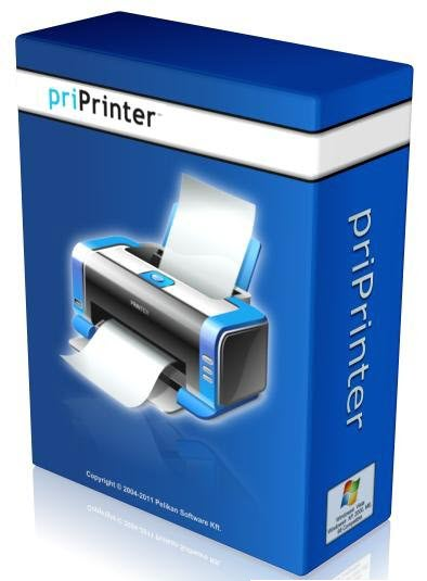 برنامج priPrinter Professional